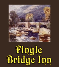 The Fingle Bridge Inn has a homely atmosphere with cosy log fires in winter and river terraces to enjoy in good weather.A variety of food is always available, with bar snacks, cream teas and daily specials.