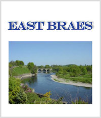 East Braes has outstanding uninterrupted views of the River Tweed and beyond to the Cheviot Hills and Flodden. The attractive gardens have an entrance leading to riverside walks along the banks of the Tweed.