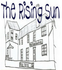 Set in the webcam's image on the banks of the River Taw The Rising Sun offers accommodation, good home cooked food and local ales good wines and local ciders. We serve fresh coffee all day. Fishing Day Tickets Available.